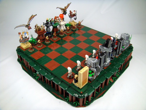 Star Wars: Return of the Jedi Lego Chess (by icgetaway)