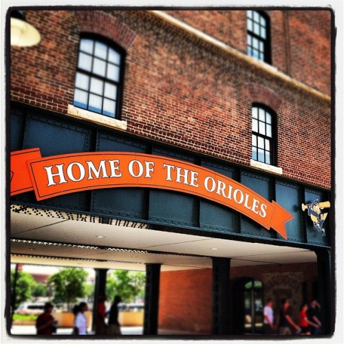 Camden Yards #Baltimore (Taken with Instagram at Oriole Park at Camden Yards)
