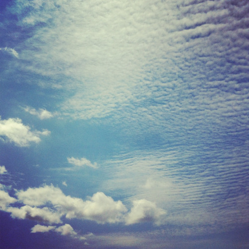 textured clouds.