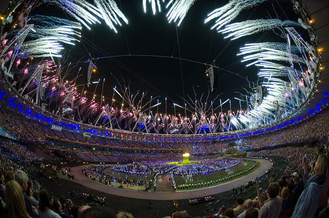 London 2012 Olympic Opening Ceremony by KhE 龙 on Flickr.
