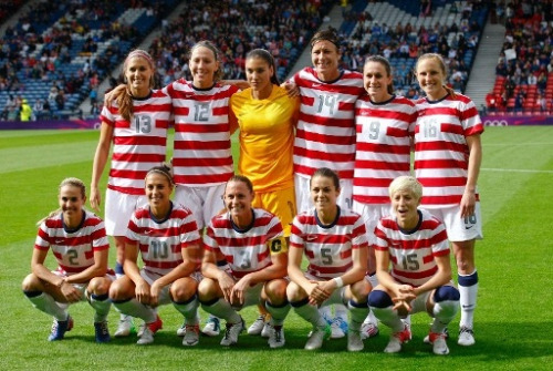 socnation:  USWNT Starting XI vs Colombia 7/28/12