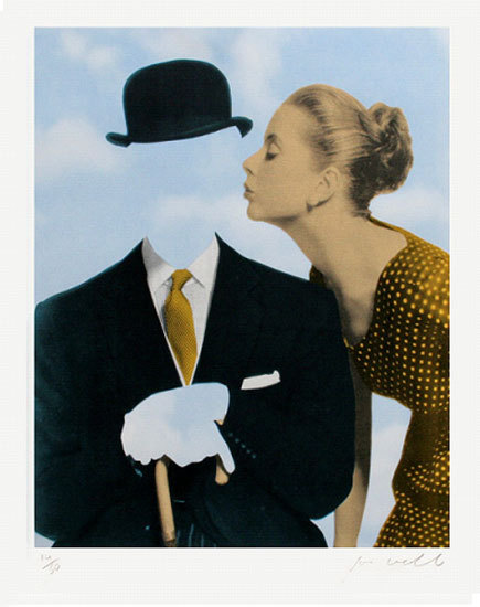 josephwebb:  Art Republic recommends Joe Webb http://www.artrepublic.com/info_pages/18-staff-recommendations.html http://www.artrepublic.com/prints/16202-kissing-magritte-silkscreen-signed-limited-edition-of-50.html