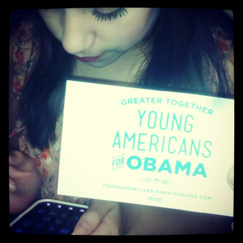 My sister. She's only sixteen, and already politically correct. Well, according to my definition of political philosophy. Haha.