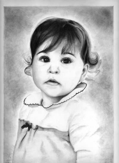 Commissioned work Pencil / Black and white F4