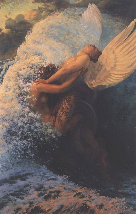 art-and-fury:  Spleen et Ideal - Carlos Schwabe  wut