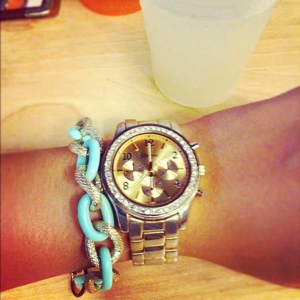 My new @thewayweare armcandy & wet willie's margarita 🍸🍺🎉 (Taken with Instagram)