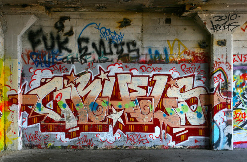 graff14:  Gruels by funkandjazz on Flickr.