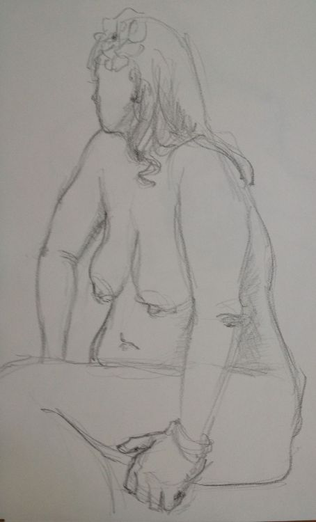 Figure drawings from today's session!