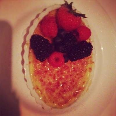 Mmmm Creme brûlée (Taken with Instagram)
