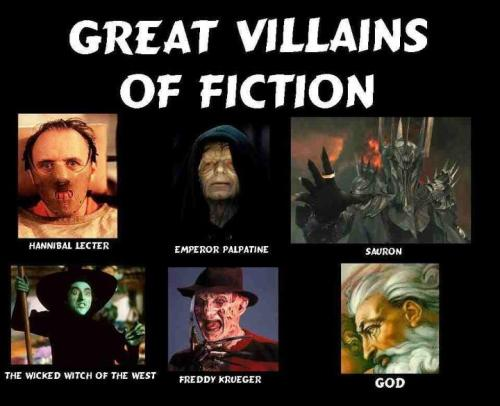 Greatest Villains of Fiction