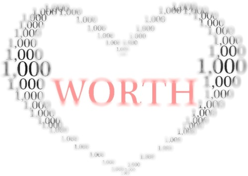 A picture is worth a thousand words… Knowing your hearts worth speaks volumes…