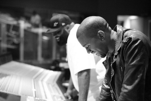 In the studio with Kanye West and Rick Ross