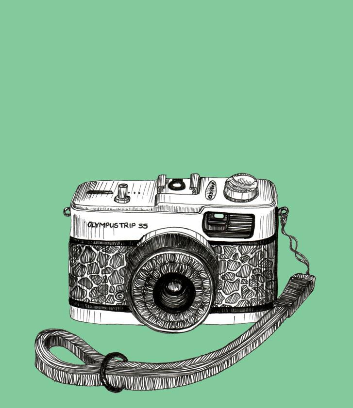 Vintage Camera Drawing Tumblr D