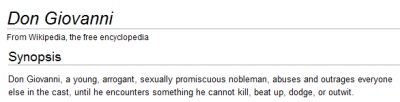 boppinrobin:  myfairyqueen:  Most accurate opera synopsis ever.   #crying for accuracy #spoiler warning i love opera #sort of like how i love batman #like i know it's a fucking mess of an institution but i love it regardless #i love it illogically #i love it even when it makes me very angry #i'm going to see a ring cycle in broome later this month #yes i am that person It pains me that we were not friends before this.  dying oh god it's so true.