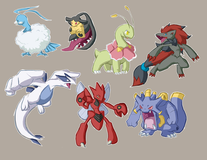 all-the-pokemon:  .:DoodlingSomePokemans:.