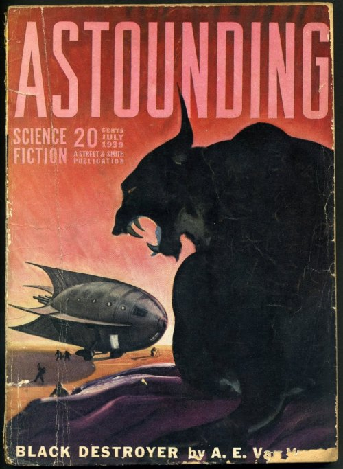 willigula:  Astounding Stories cover art by Graves Gladney, 1939 (via Golden Age)