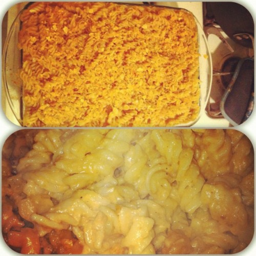 I make some fantastic BBQ Mac and cheese.  (Taken with Instagram)