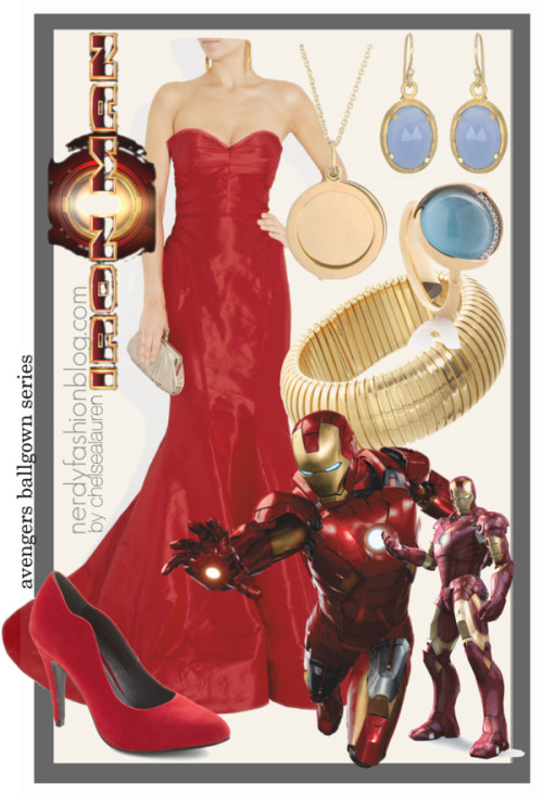 Iron Man | The Avengers Ballgown Series by chelsealauren10