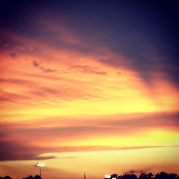 Sunset👍 (Taken with Instagram)
