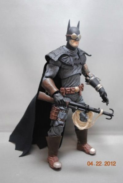 Steampunk Batman Custom Action Figure