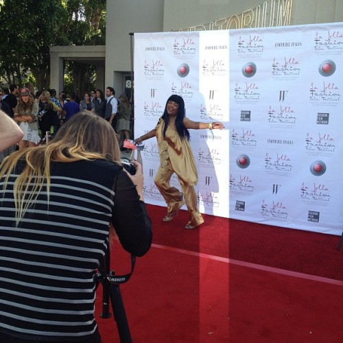 The #redcarpet at #lajolla #fashion and #filmfestival  (Taken with Instagram)