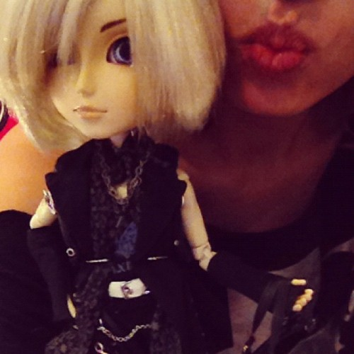 I'm kind of obsessed with this doll (Taken with Instagram)