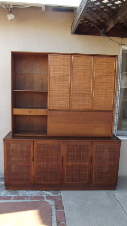 MID CENTURY BOOKCASE/ HUTCH/ SIDEBOARD- SOLD !!
