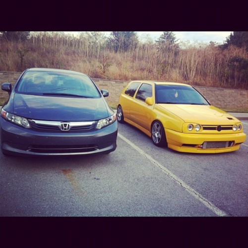Babe and best friend's duh. #yellowisbetter (Taken with Instagram)