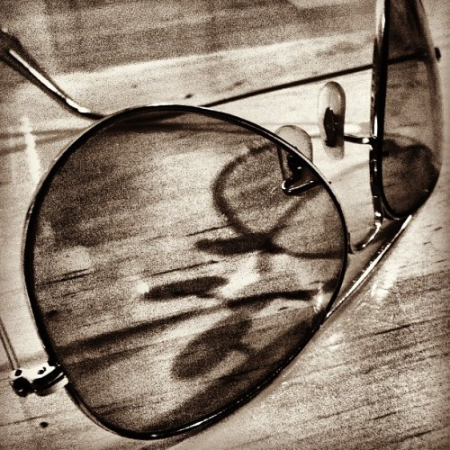 An old pair of #aviators #rayban #igers #iphoneography  (Taken with Instagram)