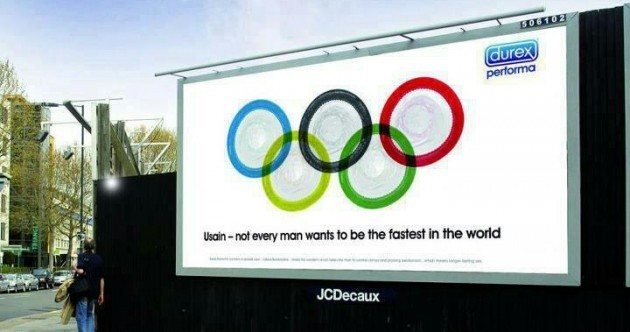 2012 OLYMPIC BILLBOARD AD