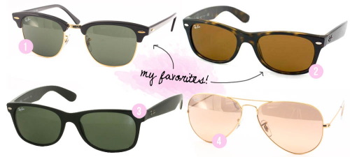Win a pair of RayBans on the blog! Click the picture to enter! (Reblogging this with the caption attached counts as an entry!) KaelahBee.com