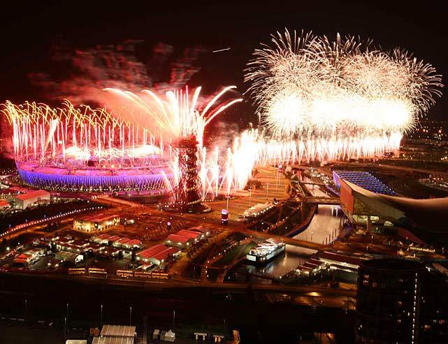 Olympic Opening Ceremonies have a long history of grandeur and Friday night's event followed in that tradition. A record 40.7 viewers tuned into the broadcast and were treated to a parachuting queen, fireworks galore and a Paul McCartney performance.  SI and SI.com have over 40 journalists on site to deliver coverage of the London Olympics  with day-by-day galleries and analysis to come. (Simon Bruty/SI) GALLERY: London Olympic Games Opening Ceremonies | Day 1 PhotosGIGAPAN: View the entire crowd at the Opening CeremoniesSI STAFF: Complete Olympic Coverage - photos, analysis. videos and more