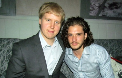 Red Carpet News TV interview with Kit Harington