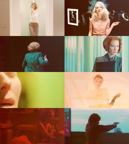 is it safe? AU MEME — Cate Blanchett & Tilda Swinton & Mia Wasikowska + Cold War thriller for @swintons