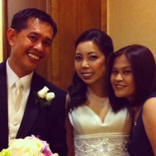 Dwight & Iris Arenos (Taken with Instagram at Marriott)