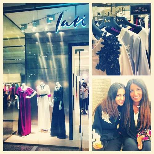 Lum @ Lati ~ Kingdom Mall ~ Riyadh (Taken with Instagram)