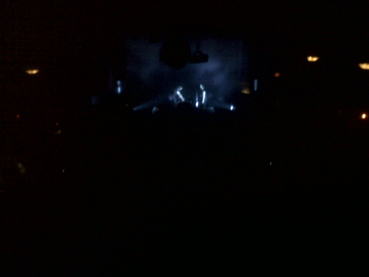 My life right now. The xx concert.