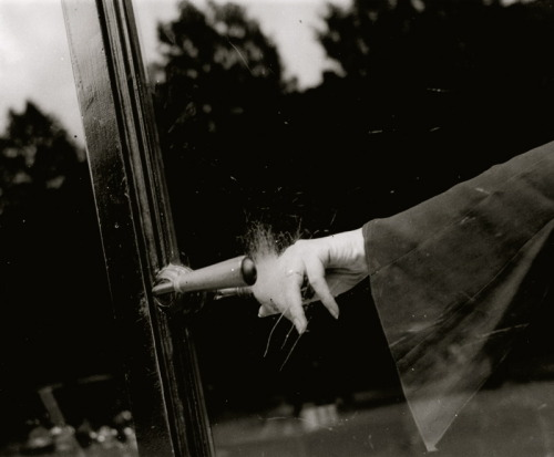 Lee Miller.Untitled(Exploding Hand).1930. After seeing the show Lee Miller and Man Ray | Partners in Surrealism at the Legion of Honor, I am reminded what a visionary Lee Miller was. The wall text accompanying this photograph explained how the effect of her hand exploding was created by the scratches on the glass door of a perfumerie made by people wearing diamond rings.