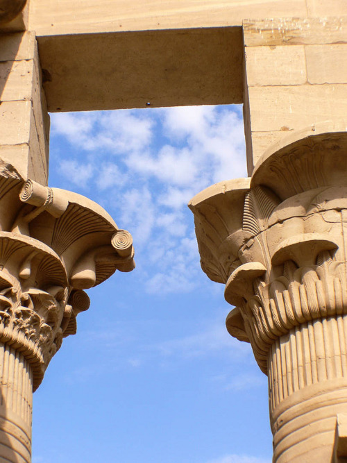 aboutegypt:  Trajan's Kiosk at Philae - 06 (by MikePScott)
