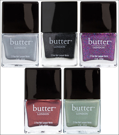 Butter London A/W 2012 Collection