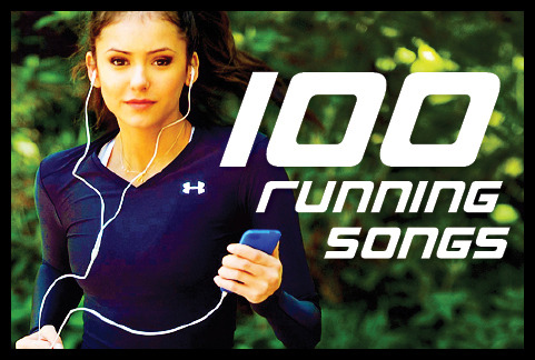skinnyfitconfident:  100 Running Songs! (The image links to the original article) In no particular order: Afrojack – Take Over Control Bruno Mars – Runaway Baby Kelly Clarkson – Whyawannabringmedown Barenaked Ladies – One Week Kanye West – Champion The Offspring – The Kids Aren't Alright T.I. – Bring Em Out Lady Gaga ft. Colby O'Donis – Just Dance Chris Brown – Yeah 3x Alien Ant Farm – Smooth Criminal YoungBloodz – Imma Shine Beyonce & Jay Z – Crazy In Love Black Eyed Peas – Pump It Neon Trees – Animal LMFAO ft. Lil Jon – Shots Usher ft. Will-I-Am – OMG Willow Smith – Whip My Hair Rihanna – Disturbia Will-I-Am ft. Mick Jagger & Jennifer Lopez – T.H.E. (The Hardest Ever) Tinie Tempah ft. Wiz Khalifa – Till I'm Gone Samantha Jade – Step Up Fatboy Slim – Rockafeller Skank Pitbull ft. Ne-Yo & Afrojack- Give Me Everything Outkast – Hey Ya Nicki Minaj – Starships Will Smith – Gettin' Jiggy Wit It Prodigy – Breathe Janelle Monae ft. Big Boi- Tightrope Kanye West – Power Ke$ha – Blow Destiny's Child – Survivor Nicki Minaj & David Guetta – Turn Me On Black Eyed Peas – Don't Stop The Party Chris Brown – I Can Transform Ya Maroon 5 ft. Christina Aguilera – Moves Like Jagger Kelly Clarkson – Stronger (What Doesn't Kill You) Lenny Kravitz – Are You Going To Go My Way Skrillex – Bangarang Usher – More Rihanna – Breakin Dishes Smash Mouth – All Star Calvin Harris ft. Ne-Yo – Let's Go La Roux – Bulletproof Madcon – Beggin' LMFAO – Sexy And I Know It Michael Franti & Spearhead – Say Hey (I Love You) Justin Bieber ft. Ludacris – Baby Nirvana – Smells Like Teen Spirit Pink – Raise Your Glass Rick Ross – Push It Black Eyed Peas – Don't Phunk With my Heart Beyonce – Single Ladies (Put A Ring On It) Christina Aquilera ft. Nicki Minaj – WooHoo Eminem – Lose Yourself Eiffel 65 – Blue (Da Ba Dee) Trapt – Headstrong Salt 'N Pepa – Push It T-Pain – Church The Veronicas – 4ever LMFAO – Party Rock Anthem Eminem – Won't Back Down The Ting Tings – That's Not My Name Rihanna ft. Calvin Harris – We Found Love Kevin Rudolf ft. Lil' Wayne – Let It Rock DJ Khaled – Out Here Grindin' Lenny Kravitz – Where Are We Runnin'? Fabolous – Breathe Jessie J – Domino Kris Kross – Jump Flo Rida ft. Sia – Wild Ones Kanye West & Jay Z – Ni**as In Paris Drake ft. Lil Wayne & Tinie Tempah – The Motto (Remix) Michael Jackson – Don't Stop 'Til You Get Enough Cobra Starship – You Make Me Feel… Britney Spears – I Wanna Go Enur ft. Natasja & Mims – Calabria 2008 Fergie – Here I Come Eve – Tambourine Outkast – B.O.B. House Of Pain – Jump Around Kelly Clarkson – My Life Would Suck Without You Gwen Stefani – The Sweet Escape Fort Minor – Remember The Name Paramore – Ignorance Lady Gaga – Born This Way Linkin Park – Papercut Rihanna – Where Have You Been B.o.B ft. Rivers Cuomo – Magic Selena Gomez & The Scene – Love You Like A Love Song Britney Spears – Till The World Ends Matchbox Twenty – How Far We've Come ATC – All Around The World Beyonce – Countdown Christina Aguilera – Fighter Kanye West – Stronger Flo Rida – Good Feeling Smash Mouth – I'm A Believer DJ Khaled ft. Ludacris, Rick Ross, T-Pain & Snoop Dogg – All I Do Is Win Madonna ft. Justin Timberlake – 4 Minutes Maroon 5 – Makes Me Wonder