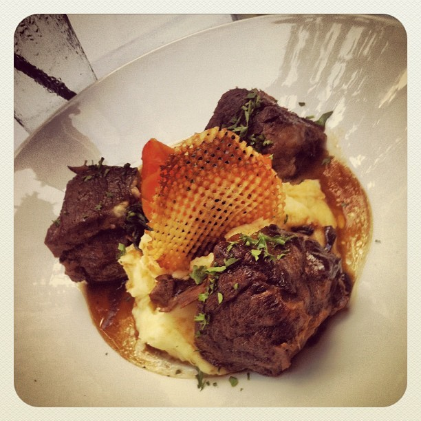 Short ribs. (Taken with Instagram at Circa at Clarendon)