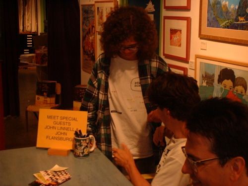 Ten years ago today I went to an instore in Los Angeles and I wore my State Songs shirt and JOHN PUT HIS HAND UNDER IT SO HE COULD SIGN IT and I was basically the most fantastic person ever. Between this and some other partial credit things that have happened, we've TOTALLY had sex.