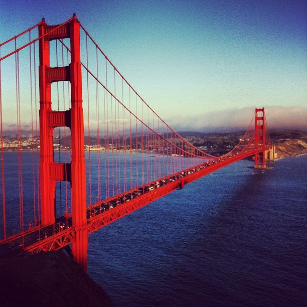 Awesome view! #goldengate (Hendrik Pointにて。Instagramで撮影)