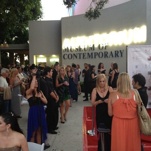 Spotted #lajolla #fashion and #filmfestival  (Taken with Instagram)