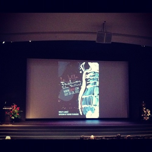 Waiting for the #lajolla #fashion and #filmfestival #closingnight #shortfilms to #premiere #llblog  (Taken with Instagram)