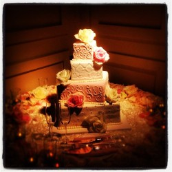 Wedding cake (Taken with Instagram)