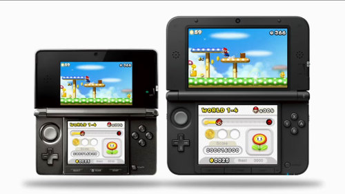 gamefreaksnz:  Nintendo 3DS XL launches across Europe  Nintendo has announced that Nintendo 3DS XL, a new version of Nintendo 3DS with 90% larger screens is now available across Europe.