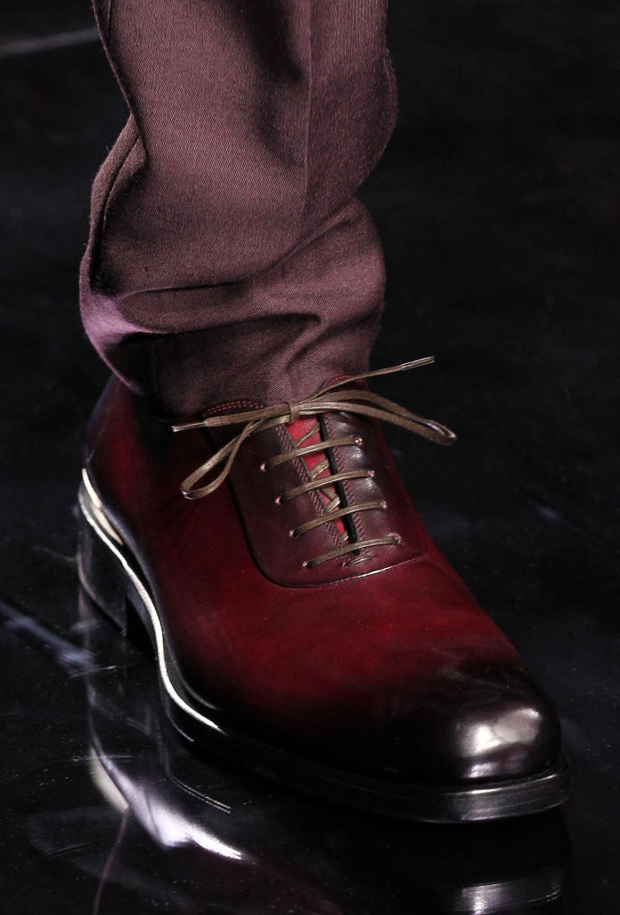 Ferragamo lace ups fall 2012
