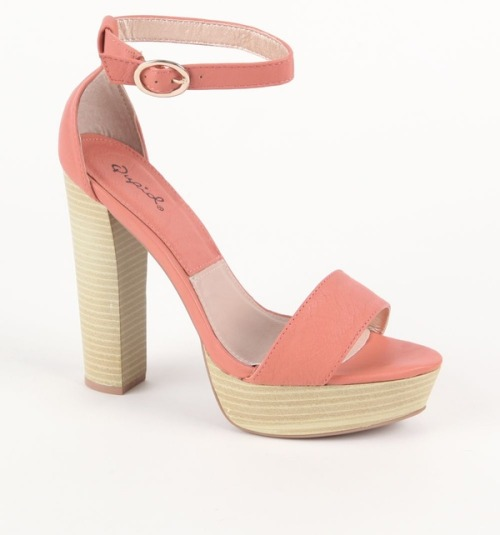 (via Qupid Enclose Heel Sandals - PacSun.com)